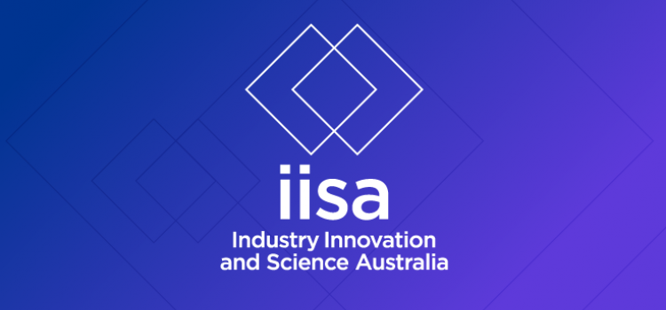 Industry Innovation and Science Australia logo